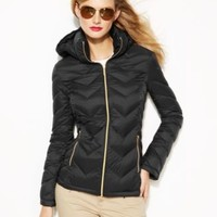 MICHAEL Michael Kors Packable Quilted Down Puffer Coat | macys.com