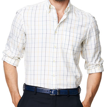 Editor's Oxford Check Regular Button Down