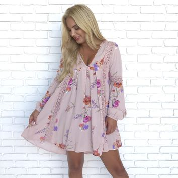 Thinking of You Floral Shift Dress