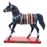 Painted Ponies SQUASH BLOSSOM Polyresin Navajo Turquoise Dineh 4046326LE