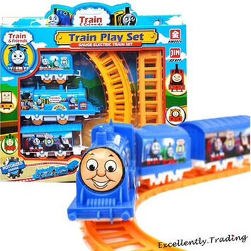 Electric Trains Thomas Track Toy Simulation Car Train Baby Educational Toys Kid Gift [9305871303]