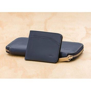 Bellroy Carry Out Wallet in Steel Blue