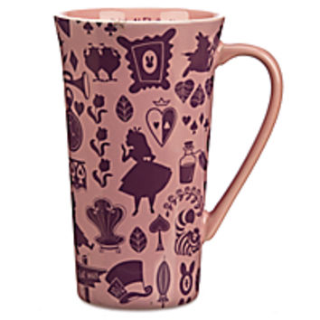 Alice in Wonderland Latte Mug