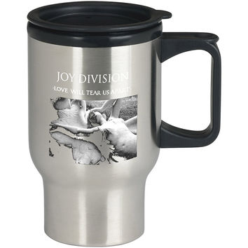 Joy Division Love Will Tear Us Apart For Stainless Travel Mug *