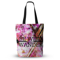 "Ebi Emporium ""Be Wild and Wander"" Pink Everything Tote Bag"