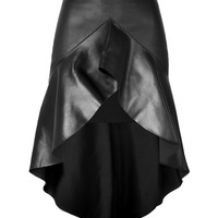 Jitrois - Leather Caly Skirt