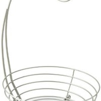 Taymor Satin Nickel Basket Banana Holder