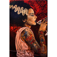 Bride Cocktail by Mike Bell Fine Art Giclee Canvas Print