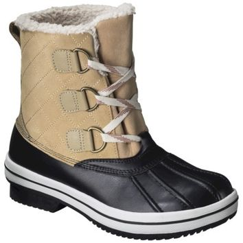 Women's Merona® Nancy Winter Boots - Natural
