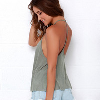 Women's Strappy Top [6259231492]