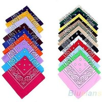 hip-hop bandanas for Male female men women head scarf Scarves multi colour style Wristband  9737