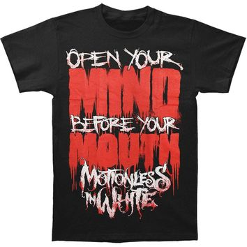 Motionless In White Men's  Open Your Mind T-shirt Black