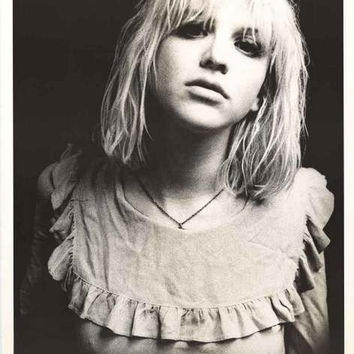 Courtney Love Portrait Poster 25x35