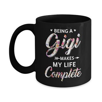 Being A Gigi Makes My Life Complete Mothers Day Mug
