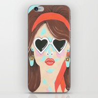 Heartbreaker iPhone & iPod Skin by Kathleen Sartoris