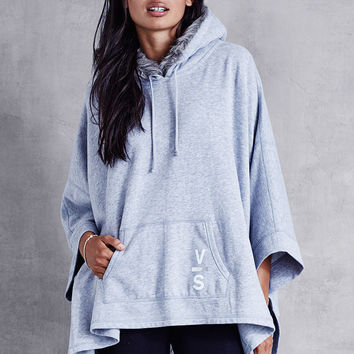 Faux-fur Hooded Poncho - Fleece - Victoria's Secret