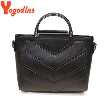 Yogodlns new Fashion cute Women Shoulder Bag High Quality Women Messenger Bag Women Tote Bag Leather Women Handbag Patchwork bag