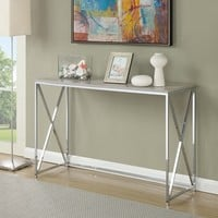 Convenience Concepts Designs2Go Belaire Console Table - Free Shipping Today - Overstock.com - 18938213 - Mobile