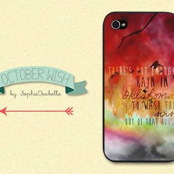Blown Away iPhone 4/4S/5 Case by OctoberWish on Etsy