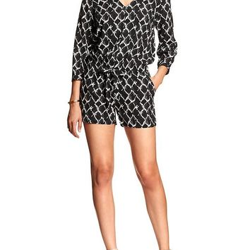 Factory 3/4 Sleeve Romper