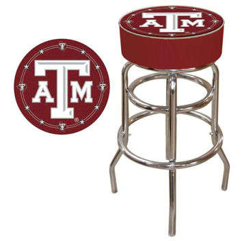 Texas A&M University Padded Bar Stool