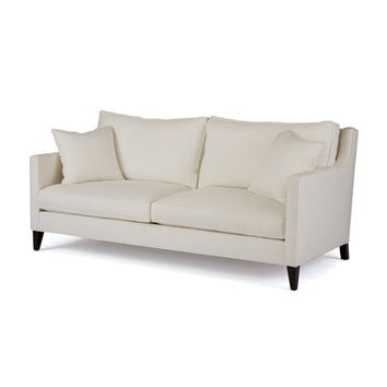 "Eclipse Home Collection Grace Sofa Klein Pool No Nailheads 85"" L  x 37"" W  x 28"" H"