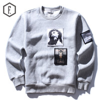Winter Pullover Long Sleeve Round-neck Hoodies [8822219459]