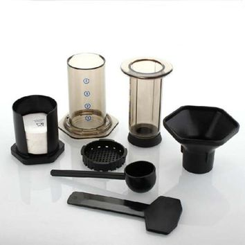 Home Use portable coffee pot & Similar AeroPress Espresso coffee filters + 350pcs coffee machine filter paper