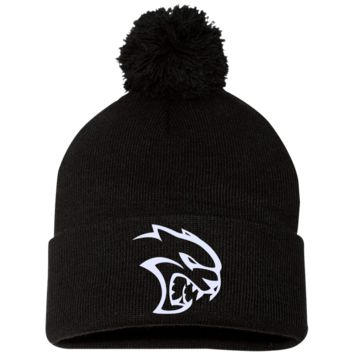 DODGE HELLCAT SP15 Sportsman Pom Pom Knit Cap
