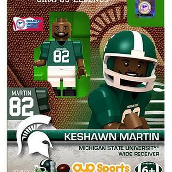 Keshawn Martin Michigan State Spartans Minifigure by Oyo Sports NIB Sparty