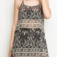 BELLE SLIP DRESS