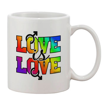 Love Is Love Gay Pride Printed 11oz Coffee Mug