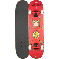 Almost Skateboards Willow The Flash Full Complete Skateboard Red One Size For Men 24507530001