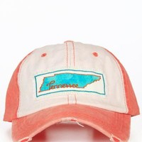 Watercolor Tennessee Hat