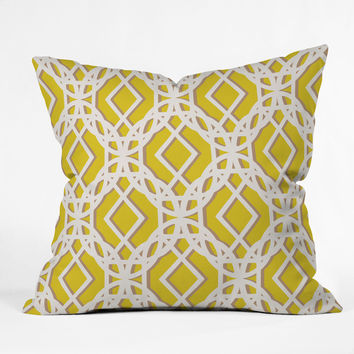 Aimee St Hill Diamonds Throw Pillow