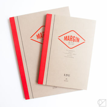 LIFE Margin Notebooks Blank