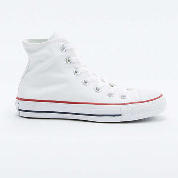 Converse All Star Chuck Taylor White High-Top Trainers - Urban Outfitters