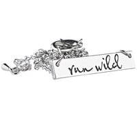 Run Wild Necklace Silver – Shop Dixi