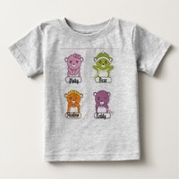 The Four Bears Baby T-Shirt