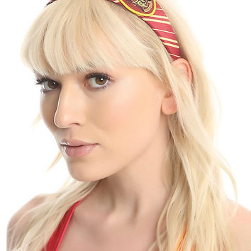 Harry Potter Striped Gryffindor Cosplay Patch Headband