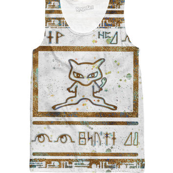 Ancient Mew Limited Edition White Tank Top