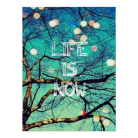 Life is Now Poster from Zazzle.com