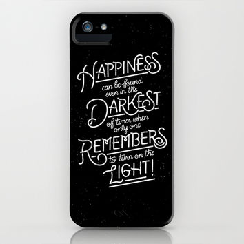 Happiness can be found iPhone & iPod Case by WEAREYAWN