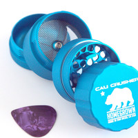 "Cali Crusher Homegrown 2.5"" Pocket Grinder - Aqua"