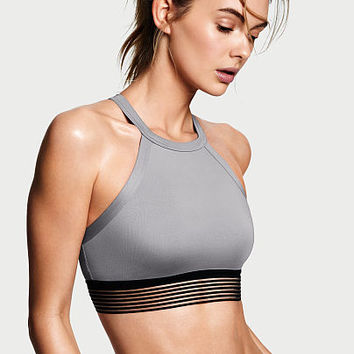 High-neck Keyhole Sport Bra - Victoria Sport - Victoria's Secret