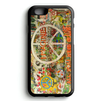 Beatles Graffiti   All You Need Is Love Peace iPhone 4s iphone 5s iphone 5c iphone 6 Plus Case   iPod Touch 4 iPod Touch 5 Case