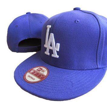 PEAPON Los Angeles Dodgers New Era MLB 9FIFTY Cap Blue-White