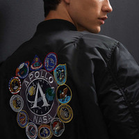 Alpha Industries NASA Bomber Jacket   Urban Outfitters