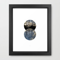 Norwegian Woods #1 Framed Art Print by BlendByEli