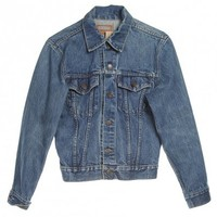 Mid Blue Denim Jacket by Levi's - Vintage clothing from Rokit -